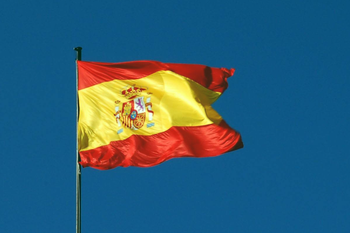 Bandera de España comovalomio